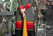 Patiala Salwar Kameez / Steal hearts of milllions by cladding yourself into these patiala salwar kameez :  http://www.sareesbazaar.com