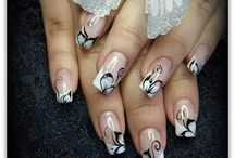 Fashion nails and beauty