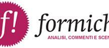 Il mio blog su Formiche.net / Qui trovate i post del mio blog su Formiche, uno spazio tutto mio sull'autorevole rivista online, in cui ragiono sull'evoluzione degli scenari di innovazione in Italia e all'estero.