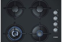 PLITA INCORPORABILA BOSCH POH616B10E, 4 ARZATOARE, GAZ, APRINDERE ELECTRICA, 60 CM, NEGRU