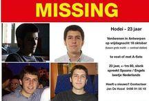Cartel de búsqueda de Hodei Eguiluz en Internet es un joven vasco desaparecido en Bélgica  vía @segurpricat