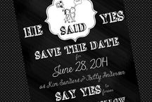 wedding-save the date invites
