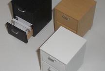miniaturas, casinhas e minimóveis / by Regina Garcia Brito