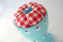 Pincushions :) / by Christina Barnes