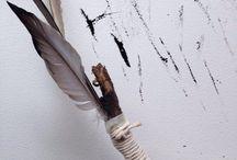 handmade drawing tools