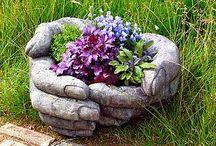 Garden containers/Garden design