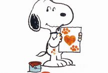 Snoopy and cartoons / by Diane Sherman