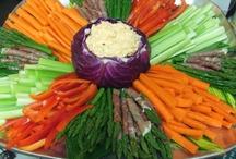 Vegetarisch dienblad