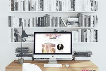 Feminine Blogger Template / Responsive Premade Blogger Template by Qdonow