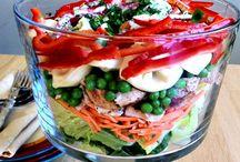 Yummy Nummy-Salads / by Emily H