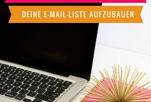 Newsletter & E-Mail Marketing Tipps für Selbständige & Blogger / email marketing, email tips, newsletter, mailchimp
