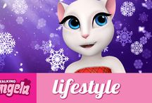 Talking Angela videos