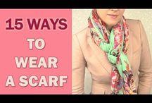15 ways to wear a scarf