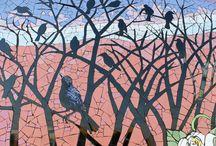 Arboles mosaico