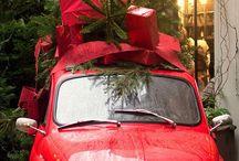 Авто с елкой