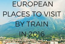 Train travel Europe