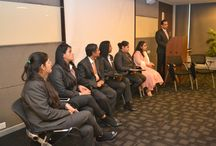 Orientation for 2014 Batch / In order to acquaint the students with the institution, syllabus, faculty and environment, an in house orientation program was organized in the campus on 3rd November'14.
