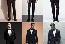 Black Tie Outfits / What to wear to a Black Tie event or wedding.