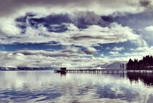 Lake Tahoe / Lake Tahoe, only an hour from Nevada City, California, offers something for everyone, skiing, hiking, boating and more.