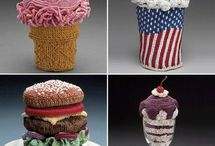 crochet dessert