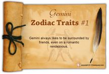Gemini Zodiac Traits / Find out about Gemini characteristics and Gemini personality traits.