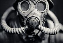 X - gas mask