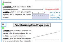 Traces écrites géométrie