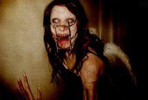creepy / Adoro creepypastas, essas são minhas imagens assustadoras (ou nem tanto) favoritas.