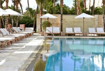 The James Royal Palm Pool and Beach Experience / by The James Hotels