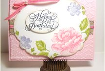 STIPPLED BLOSSOMS cards