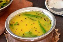 Dhals (Indian Lentil curries/ lentil based dishes)