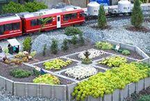 Park Bahnmodell