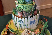 We Love Fabulous Gardening Cakes! / Everyone loves cake! We thought we'd share these amazing gardening ones. Who wouldn't want to celebrate with one of these?!
