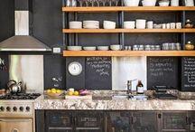 Cocinas modernas rústicas