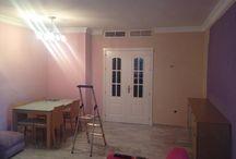 renovación de un salon