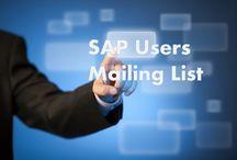 Technology Users Lists / SAP Users Lists   ERP Users Lists   IT Executives Lists   Oracle Users Lists