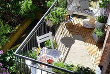 Balcons terrasses
