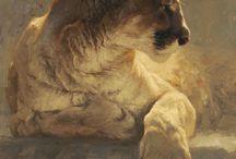 pintura - animais / desenhos e pinturas - técnicas variadas