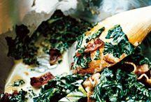 Pastarätter / Med grönkål