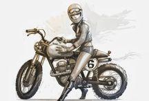 Mujeres motos