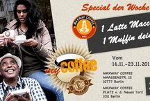 Coffee & more / Maxway Coffee . ein kleines aber sehr feines Café in Berlin Schöneberg ... http://www.maxwaycoffee.com / by Alireza Rezvani