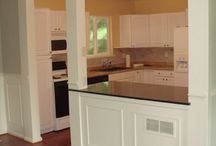 Wall trim and wainscoting