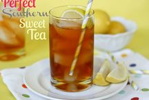Southern sweet tea recipes / by Theresa n Dennis Pautler