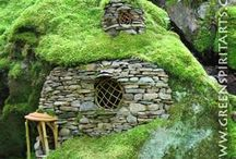 fairy houses / by Flying Carpet Studio Putnam CT