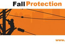 fall protection / While safety at height is our ultimate goal, enhancing worker comfort and trust . Falls are among the most common causes of serious work related injuries and deaths. Employers must set up the work place to prevent employees from falling off of overhead platforms, elevated work stations or into holes in the floor and walls.