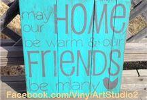 Vinyl Art Studio -  Reclaimed wood signs / Signs made by Vinyl Art Studio using reclaimed wood.