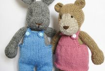 Knitted toys / by Yvette Barkhuizen