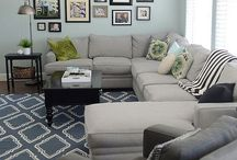 Living/family room / by Megan Patton Wesseling