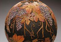 Gourd carving / by Barbara Waterbury