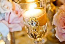 Candle arrange